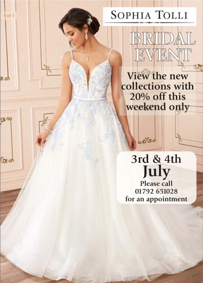 Rowberry bridal event poster July 2021